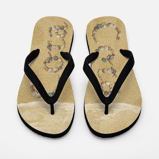 Cora Seashells Flip Flops