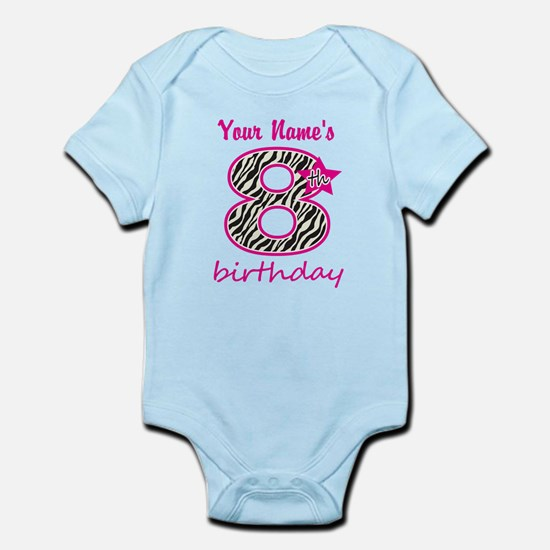 8th Birthday - Personalized Body Suit