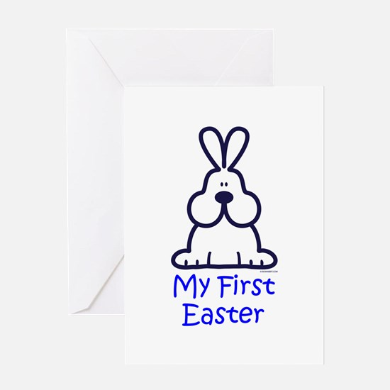 My First Easter front 317 Greeting Cards