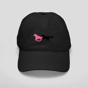 Horses (B&P) Black Cap with Patch