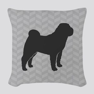 Chinese Shar-Pei Woven Throw Pillow