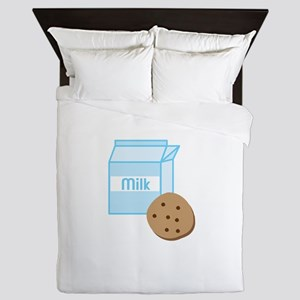 Cookie & Milk Queen Duvet