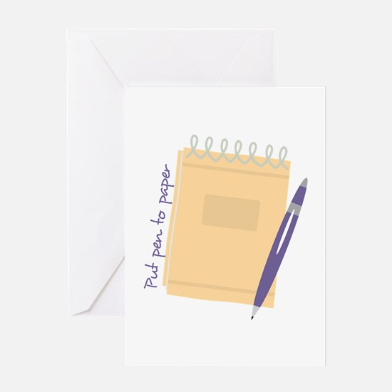 Pen to Paper Greeting Cards