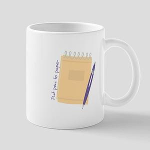 Pen to Paper Mugs