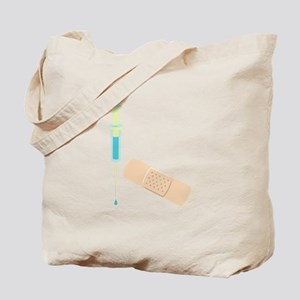 Shot & Band Aid Tote Bag