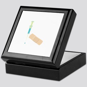 Shot & Band Aid Keepsake Box
