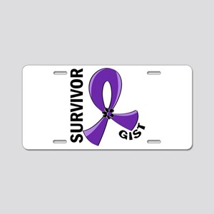 GIST Survivor 12 Aluminum License Plate