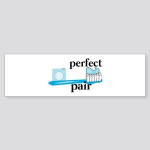 Perfect Pair Bumper Sticker