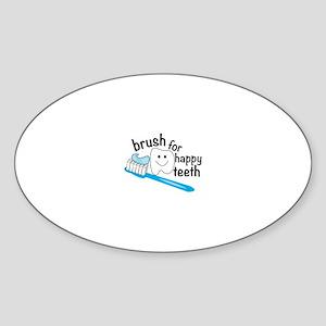 Happy Teeth Sticker