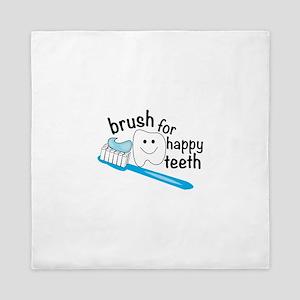 Happy Teeth Queen Duvet