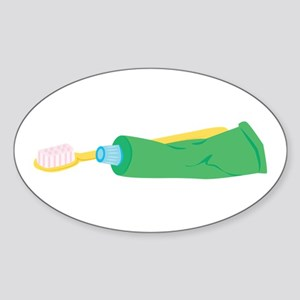 Tooth Brush & Paste Sticker