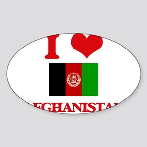 I Love Afghanistan Sticker