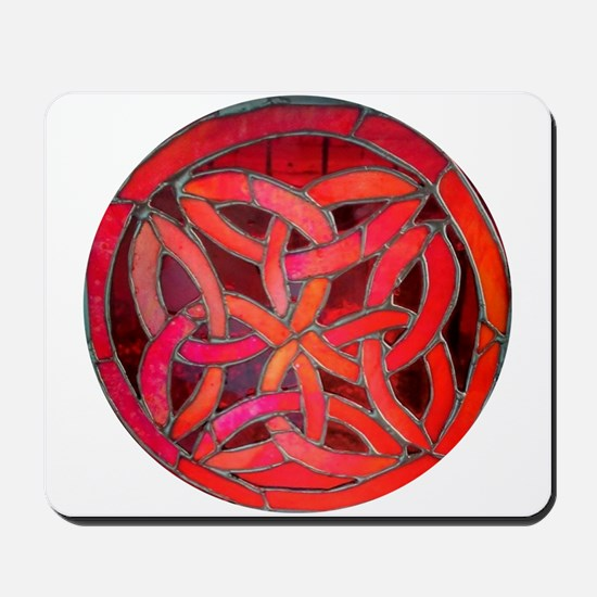 Red Celtic Knot Mousepad