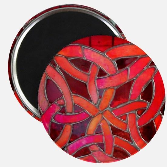 Red Celtic Knot Magnet