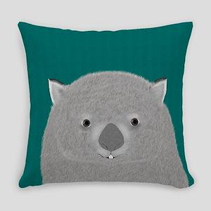 Wombat Everyday Pillow