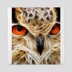 Owl Eyes Queen Duvet