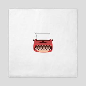 Typewriter Queen Duvet