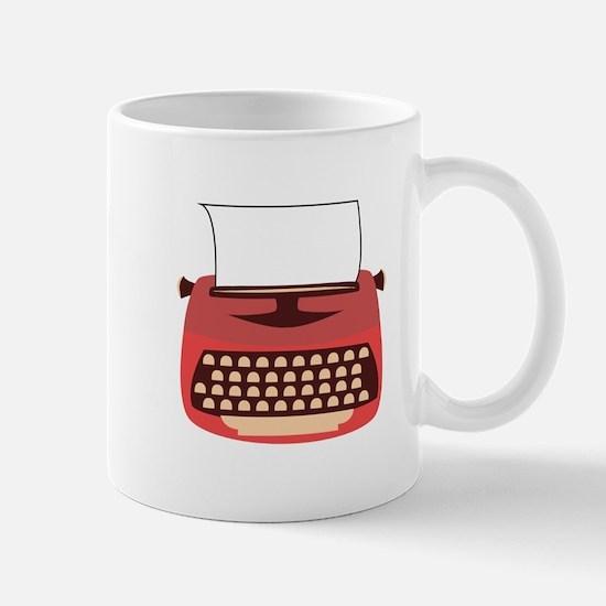 Typewriter Mugs