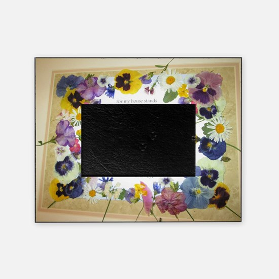 Pressed Flowers Picture Frame