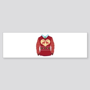Christmas Sweater Bumper Sticker