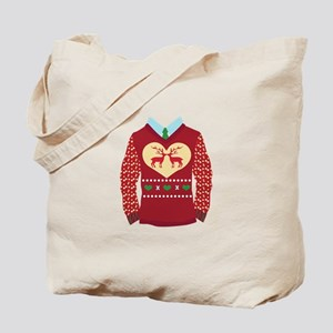 Christmas Sweater Tote Bag