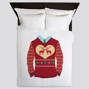 Christmas Sweater Queen Duvet