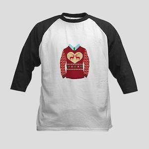 Christmas Sweater Baseball Jersey