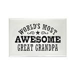 Great Grandpa Rectangle Magnet