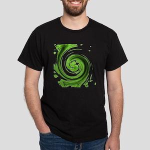 Emerald Spiral Dark T-Shirt