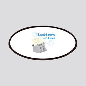 Letters Of Love Patch