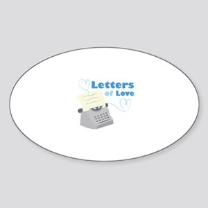 Letters Of Love Sticker