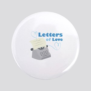 Letters Of Love Button