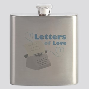 Letters Of Love Flask