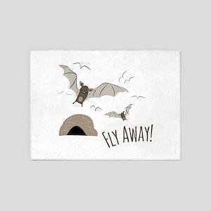 Fly Away 5'x7'Area Rug