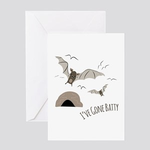 Ive Gone Batty Greeting Cards