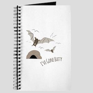 Ive Gone Batty Journal