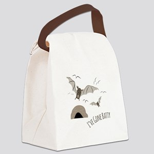 Ive Gone Batty Canvas Lunch Bag