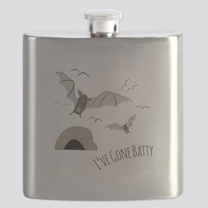 Ive Gone Batty Flask