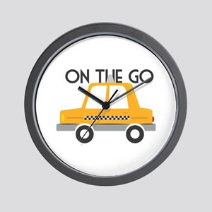 On The Go Wall Clock