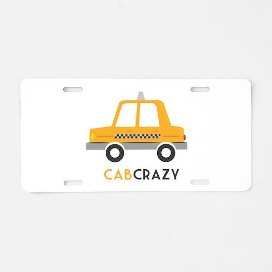 Cab Crazy Aluminum License Plate