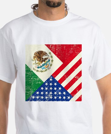 Two Flags, One Race T-Shirt