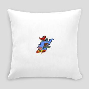 West Virginia (2) Everyday Pillow
