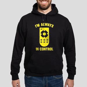 I'm Always In Control Hoodie (dark)