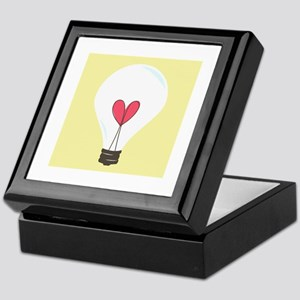 Light Bulb Keepsake Box