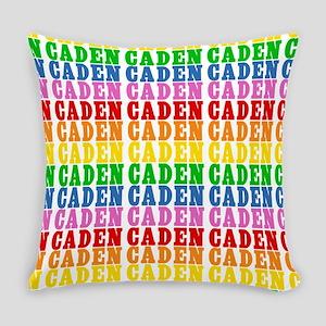 Rainbow Name Pattern Master Pillow