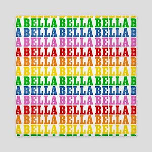 Rainbow Name Pattern Queen Duvet