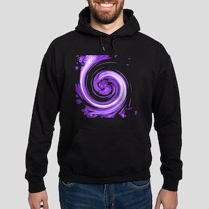 Purple Spiral Hoodie (dark)