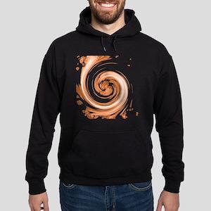Sepia Spiral Hoodie (dark)