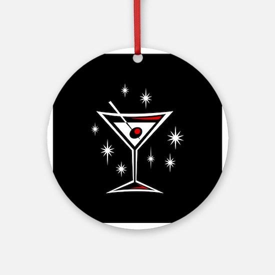 Martini Ornament (White)