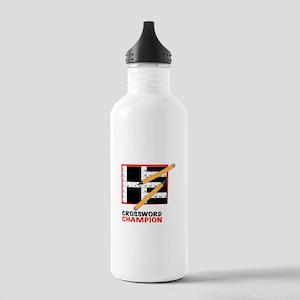 Crossword Champ Water Bottle